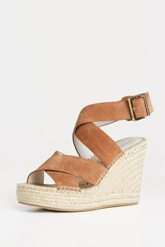 Wrapped Espadrille Wedge