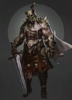 ArtStation - warrior, chengtao ma