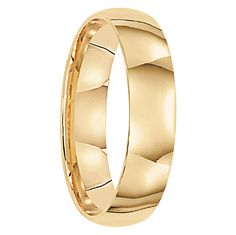 This gold band is a classic-cut style meaning the band is smooth polished with no engravings or etchings or designs on the band itself.
