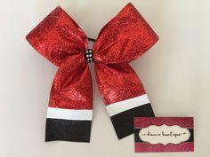 Christmas Santa Hair Bow