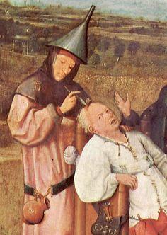 Hieronymus Bosch Wahnsinnsstein 1450