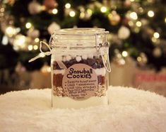1.1 Candle Jars, Candles, Snowball Cookies, Diy And Crafts, Christmas, Gifts, Gift Ideas, Xmas, Presents