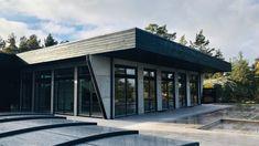 Villa Fares. J.Israelson / NorraGotland Garage Doors, Villa, Interiors, Architecture, Outdoor Decor, Home Decor, Arquitetura, Decoration Home, Room Decor