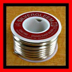 8 oz mezza libbra Canfield Silvergleem senza piombo di GlassSupply