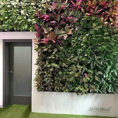 Instalace Vertikálních zahrad Gro-Wall® | Tabu Group s.r.o. Kladno Outdoor Structures, Group, Wall, Walls