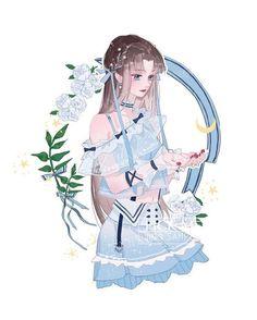 5 Anime, Anime Angel, Anime Chibi, Pretty Anime Girl, Beautiful Anime Girl, Manga Girl, Anime Art Girl, Anime Girls, Character Art