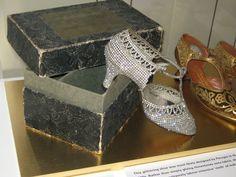 Perugia Shoe and box 1920s