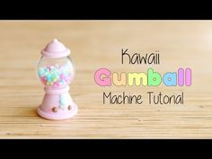 Kawaii Gumball Machine│Polymer Clay Tutorial - YouTube