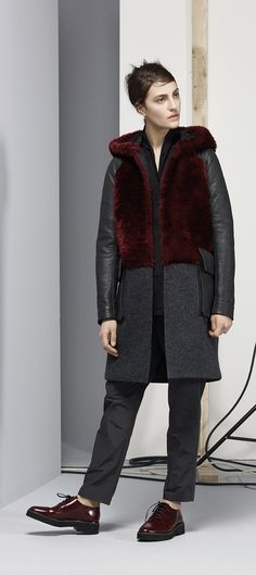 PEACE by VSP AW15/16 Fur Coat, Winter Jackets, Normcore, Peace, Style, Fashion, Winter Coats, Swag, Moda