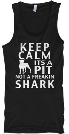 I love this and would so wear it!!  Keep Calm Pitbull Tees!