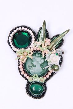 Embellished brooch