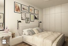 SKANDYNAWIA NA ŻOLIBORZU - Średnia sypialnia małżeńska, styl skandynawski - zdjęcie od design me too