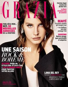 Lana Del Rey - Grazia Magazine [France] (11 September 2015) (2015)