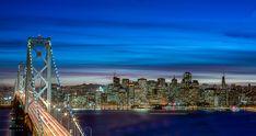 The Fog City ? by Steevy972 #ErnstStrasser #USA Golden Gate Bridge, San Francisco Skyline, City, Travel, Usa, Viajes, Cities, Trips, Tourism