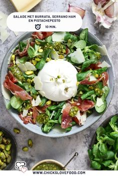 I Love Food, Good Food, Superfood Salad, Vegetable Recipes, Italian Recipes, Food Inspiration, Healthy Recipes, Meals, Dinner