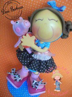 Fofucha con Peppa Pig