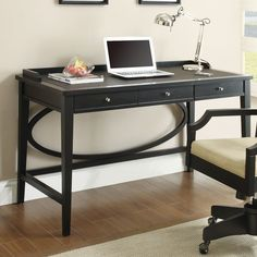 wildon home writing desk amazoncom coaster shape home office