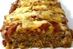 Skinny Pizza Meatloaf (6 Points+) - Weight Watchers Recipes