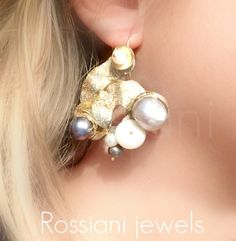 Rondò earrings - Rossiani Jewels Italian handmade jewels - Made in Italy