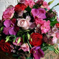 Happy Valentines Day everyone - 'Love is in a he air' and big shout out to all our fellow florist friends who we know will have worked  incredibly hard in the last couple of days  keeping romance alive with beautiful flowers #flowershoplife #valentines #lifeinflowers #loveisintheair #keepingromancealive
