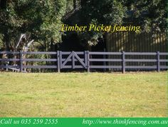 Finding The Best Post and Rail fencing in Victoria it's easy! Think Fencing based on the variety of fencing provider and developed organization at Australia.