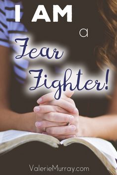Do you want to learn how to fight fear? The book Fear Fighting will help you learn how to demolish fear and live in the power of the Holy Spirit.