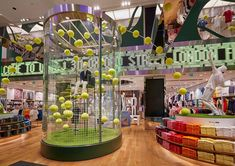 Wimbledon arrives in store at UNIQLO Oxford Street - Retail Focus - Retail Blog For Interior Design and Visual Merchandising