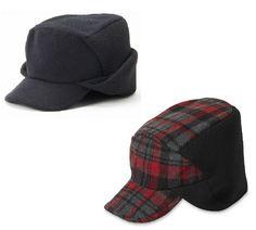 fee7b13069cff0 Dockers Mens Ear Hat Wool Blend Wool Polyester sizes S-M, L-XL NEW 16.99