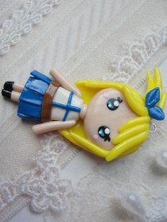 Clay Fairy Tail Lucy Chibi