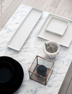 Que tal dar efeito de mármore a um móvel básico? Clica nesse post do Blog Midá pra descobrir como!