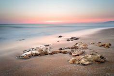 'Before sunrise on the beach' by LubosBalazovic Before Sunrise, Landscape Photos, Beach, Water, Outdoor, Gripe Water, Outdoors, The Beach, Beaches