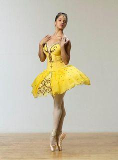 Misty Copeland....Ballet - Dance Magazine Outtake.