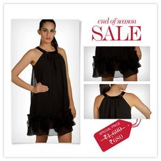 Thinking of buying a Black Dress ?  MRP – Rs. 1699 SALE Price - Rs. 680 Here's your way to it www.provogue.com