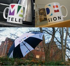 Check out these great Mugs and Umbrellas we have produced for Made TV. They were Made specially for you, We hope you like them. Promotional Bags, Umbrellas, Parrot, Mugs, Tv, Check, Things To Sell, Products, Parrot Bird