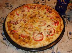 Basil Tomato Pizza