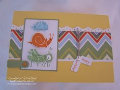 Stampin' Up!®: Bugs, Bugs & Bugs...  little boy card