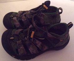 ad2393c50818 Keen Sandals 11 Toddler Boy Newport Green camo Athletic Summer Shoes  KEEN   Sandals