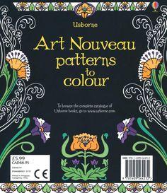 Art Nouveau Patterns to Colour: Amazon.de: Emily Bone, Mary Kilvert: Software