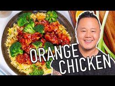 Fried Rice & Orange Chicken with Jet Tila Orange Chicken Sauce, Sauce For Chicken, Chicken Recipes, Recipe Chicken, Orange Recipes, Asian Recipes, Asian Foods, Chinese Recipes, Chinese Desserts