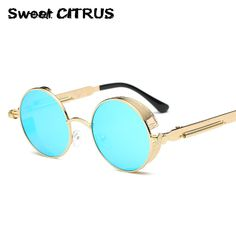 9928f56e7e4 Cheap round metal sunglasses