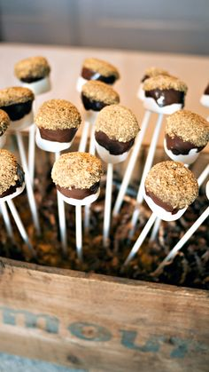 S'more Pop Recipe - Perfect for Holiday Parties!