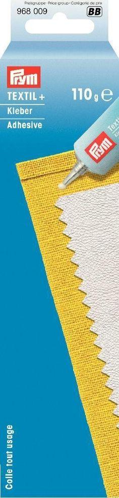 Prym 110 g Textil+ Fabric Glue, Transparent: Amazon.co.uk: Kitchen & Home