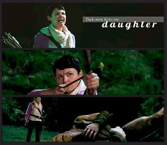 Back Away From My Daughter | Snow White and the ogre | Animated Gif at ouaterbox.tumblr.com | Once Upon A Time