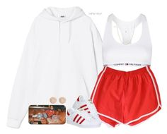 A fashion look from July 2016 featuring Retrò shorts, Topshop and Michael Kors earrings. Browse and shop related looks. Cute Lazy Outfits, Cute Swag Outfits, Sporty Outfits, Mode Outfits, Dance Outfits, Stylish Outfits, Grunge Outfits, Teen Fashion Outfits, Look Fashion