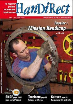 Couverture du numéro 118 : Mission handicap.