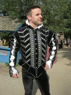 Men's Size 46 Valois Elizabethan Doublet by NoblesseCostumes, $800.00