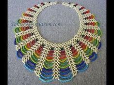The Beading Gem's Journal: Easy Rainbow Beaded Necklace Tutorial