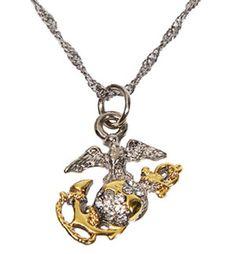 Love this Necklace. Proud USMC girlfriend.