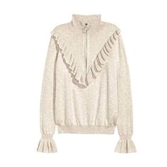 Fine-knit jumper with a frill: CONSCIOUS. Jumper in a soft, fine knit containing… Fashion Forecasting, Knitting Blogs, Knitwear Fashion, Cute Skirts, Mode Inspiration, Long Sweaters, Stylish Outfits, Lounge Wear, Plus Size Fashion