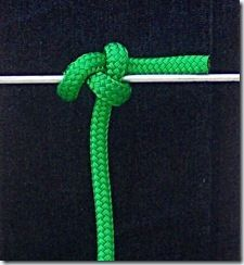 The Spar Hitch is a great knot for tying fenders to a lifeline. It is very secure and will hold around small and slick objects. The load can be at different angles. The Spar Hitch is also know a…